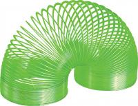 Купить Игрушка-пружинка Slinky , металлическая, цвет: зеленый, Развлекательные игрушки