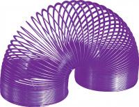 Купить Игрушка-пружинка Slinky , металлическая, цвет: фиолетовый, Развлекательные игрушки
