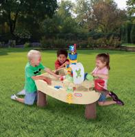 Купить Игровой стол Little Tikes Пиратский корабль , 101, 5 см х 71 см х 79 см, MGA Entertainment, Спортивные игры
