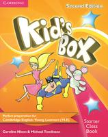 Купить Kid's Box: Starter Class Book (+ CD-ROM), Английский язык