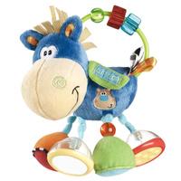 Купить Игрушка-погремушка Playgro Ослик Клип Клоп , цвет: голубой