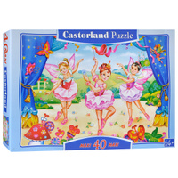 Купить Маленькие балерины. Пазл, 40 элементов, Castorland Puzzle