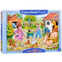 Купить Ферма. Пазл, 40 элементов, Castorland Puzzle