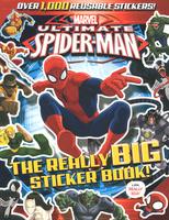 Купить Ultimate Spider-Man: The Really Big Sticker Book!, Комиксы для детей