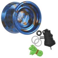 Купить Йо-йо YoYoFactory Supernova , цвет: синий, черный