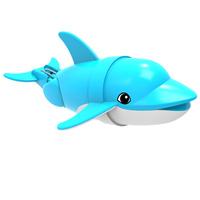 Купить Игрушка для ванны Renwood Рыбка-акробат Диппер , цвет: голубой, белый