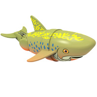 Купить Игрушка для ванны Renwood Рыбка-акробат Брукс , цвет: хаки