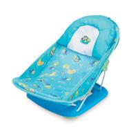 Купить Лежак с подголовником для купания Summer Infant Deluxe Baby Bather, цвет: голубой, Горки, подставки, шезлонги
