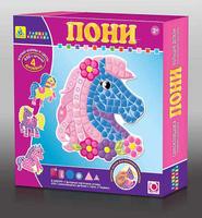 Купить Мозаика по номерам Моя первая: Пони , The Orb Factory, Обучение и развитие