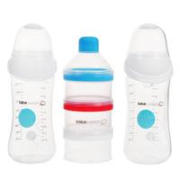 Купить Набор бутылочек для кормления Bebe Confort Maternity. Easy Clip + дозатор смесей, от 0 до 12 месяцев, 270 мл, 2 шт, Бутылочки