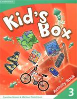 Купить Kid's Box 3 Activity Book, Английский язык