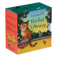 Купить Pocket Library (комплект из 4 миниатюрных книжек), Зарубежная литература для детей