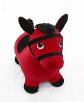 Купить Надувная игрушка-попрыгун Лошадка , цвет: красный, Наша Игрушка, Батуты, попрыгуны