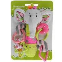 Купить Развивающая игрушка-погремушка Жирафики Слоник , с пищалкой, Развивающие игрушки
