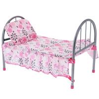 Купить Кроватка для куклы Mary Poppins , цвет: розовый, Foshan Melobo Toys Co. Ltd (Фошан Мелобо Тойс Ко., Лтд), Куклы и аксессуары