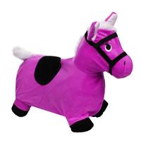 Купить Надувная игрушка-попрыгун Лошадка , цвет: розовый, Наша Игрушка, Батуты, попрыгуны
