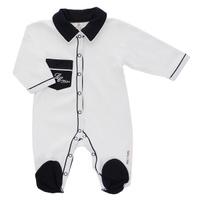 Купить Комбинезон для мальчика Lucky Child, цвет: молочный. 20-1. Размер 62/68, Одежда для новорожденных
