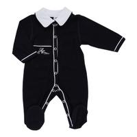 Купить Комбинезон для мальчика Lucky Child, цвет: темно-синий, белый. 20-1. Размер 62/68, Одежда для новорожденных