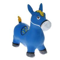 Купить Надувная игрушка Bradex Лошадка-попрыгунчик , цвет: синий, Батуты, попрыгуны