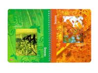 Купить Тетрадь двойная с 4-мя обложками 96л А5ф на гребне-Времена года-, Hatber