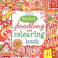 Купить Pocket Doodling and Colouring Book: Red Book, Раскраски на любой вкус