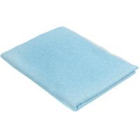 Купить Пеленка трикотажная Трон-плюс , цвет: голубой, белый, 120 см х 90 см
