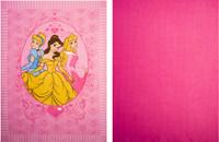 Купить Набор пледов для рукоделия Disney Принцессы , 122 х 152 см, 2 шт, Пледы и покрывала