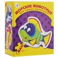 Купить Морские животные. Пазл, 21 элемент, Дрофа-Медиа