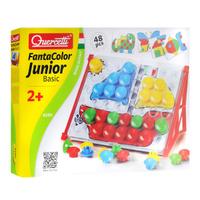 Купить Мозаика Quercetti FantaColor: Junior Basic , №4195, 48 элементов, Quercetti S.P.A, Обучение и развитие