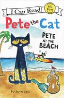 Купить Pete the Cat: Pete at the Beach: Level F, Зарубежная литература для детей
