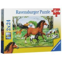 Купить Ravensburger Мир лошадей. Пазл, 2 х 24 элемента, Обучение и развитие