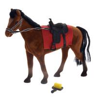 Купить Фигурка Играем вместе Лошадь , цвет: коричневый, Shantou City Daxiang Plastic Toy Products Co., Ltd, Фигурки