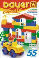 Купить Bauer Конструктор Classic 196, Мир пластика, Конструкторы