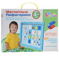 Купить Десятое королевство Обучающие карточки Магнитные пифагорики №2
