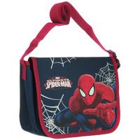 Купить Сумка детская на плечо Spider-Man , цвет: синий, красный. SMAP-UT-4072, Ранцы и рюкзаки