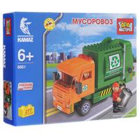 Купить Город мастеров Конструктор Мусоровоз, Shantou City Daxiang Plastic Toy Products Co., Ltd, Конструкторы
