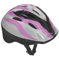 Купить Шлем защитный Action , цвет: белый, черный, розовый. Размер XS (48-51). PWH-40