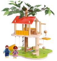 Купить Balbi Дом для кукол Домик на дереве и 2 фигурки, Куклы и аксессуары