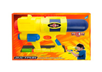 Купить Dream Makers Водный пистолет Экстрим КЭ 8 цвет желтый, Guangdong Qunxing Toys Joint-Stock Co., LTD, Игрушечное оружие