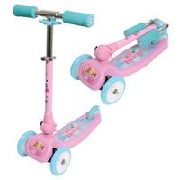 Купить 1TOY Самокат детский трехколесный Красотка, Solmar Pte Ltd