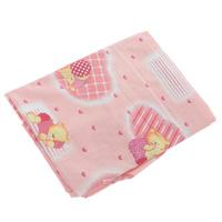 Купить Простыня на резинке Фея Мишки , цвет: розовый, 60 см х 120 см