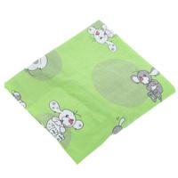 Купить Простыня на резинке Фея Наши друзья , цвет: зеленый, 60 см х 120 см