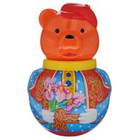 Купить Неваляшка Stellar Бурый медведь Потапыч , 16 см, в ассортименте, Стеллар, Первые игрушки