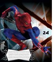 Купить Spider-Man Набор тетрадей в клетку, 24 листа, формат А5, 10 шт