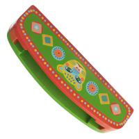 Купить Djeco Губная гармошка Animambo , цвет: зеленый, красный, Музыкальные инструменты