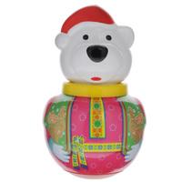 Купить Неваляшка Stellar Белый медведь Борис , 16 см, в ассортименте, Первые игрушки
