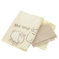 Купить Комплект детского постельного белья Fairy Я и моя мама , цвет: бежевый, 3 предмета, Fairy (ВПК)