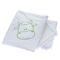 Купить Комплект детского постельного белья Fairy На лугу , цвет: салатовый, белый, 3 предмета, Fairy (ВПК), Постельное белье