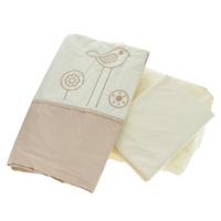 Купить Комплект детского постельного белья Fairy Волшебная полянка , цвет: бежевый, 3 предмета, Fairy (ВПК), Постельное белье