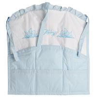 Купить Карман на кроватку Fairy Сладкий сон , цвет: белый, голубой, 59 см х 60 см, Fairy (ВПК)